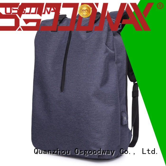 Osgoodway water laptop backpack anti theft directly sale for school