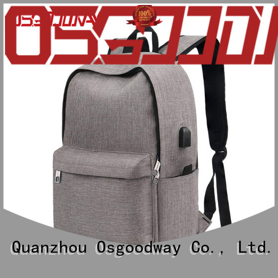 Osgoodway durable light laptop backpack cute for school
