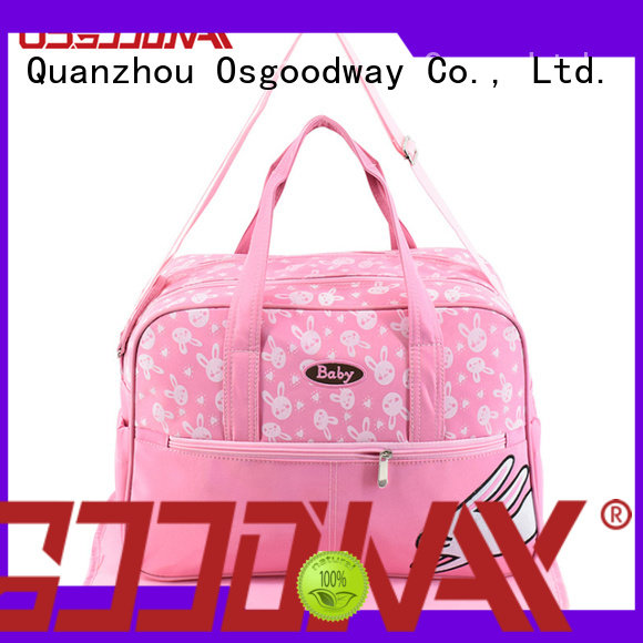 Osgoodway quality backpack diaper bag for girl wholesale for picnic