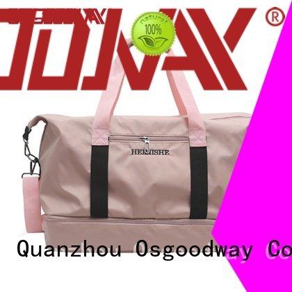Osgoodway shoulder water proof duffle bag supplier for sport