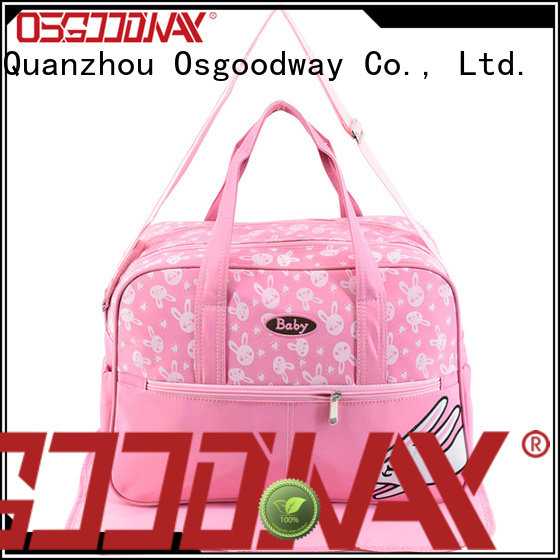Osgoodway durable wholesale diaper bags manufacturer for baby care