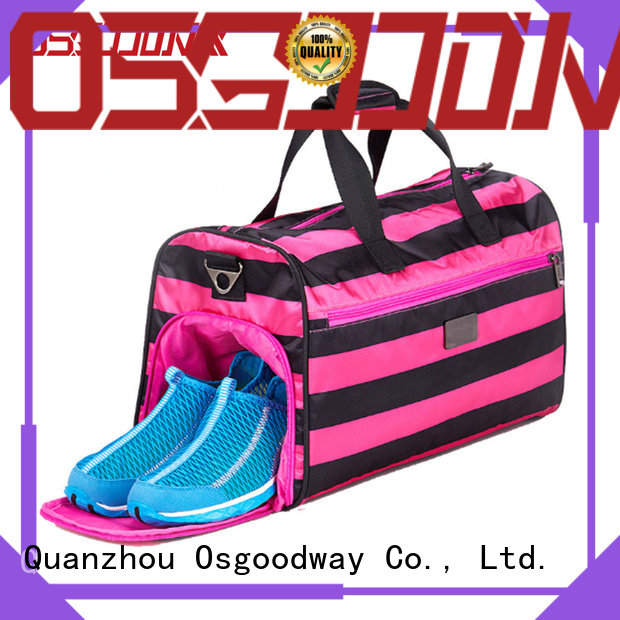 Osgoodway canvas duffle bag design for fitness