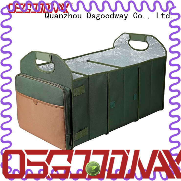 Osgoodway customized car trunk organizer supplier for vehicle
