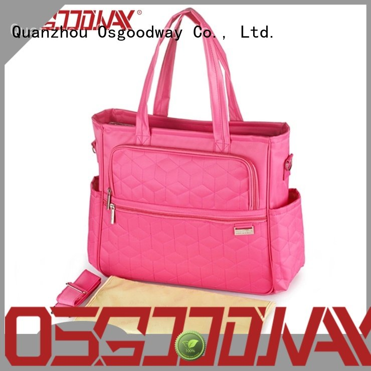 stylish travel diaper bag material manufacturer for mom