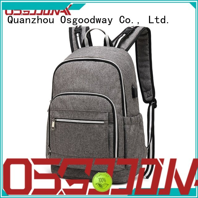 Osgoodway large capacity mens diaper bag easy to carry for picnic