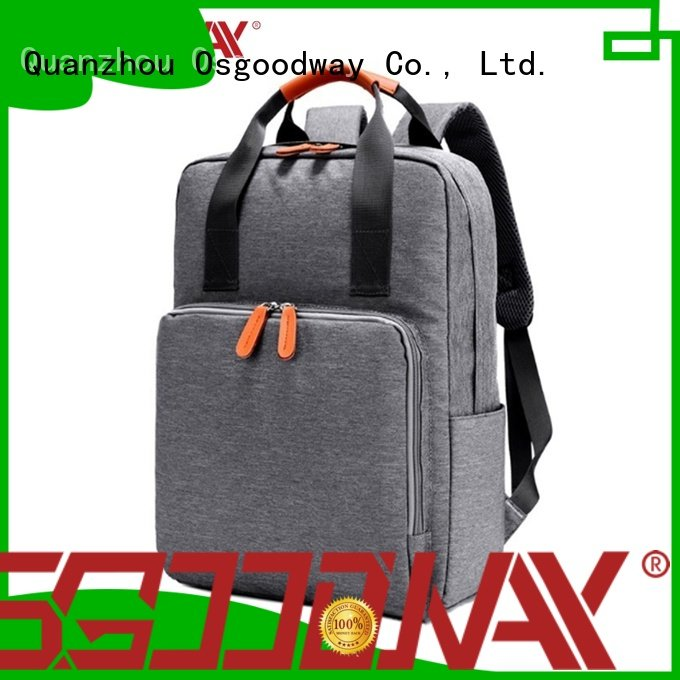 Osgoodway good quality convertible laptop backpack directly sale for men