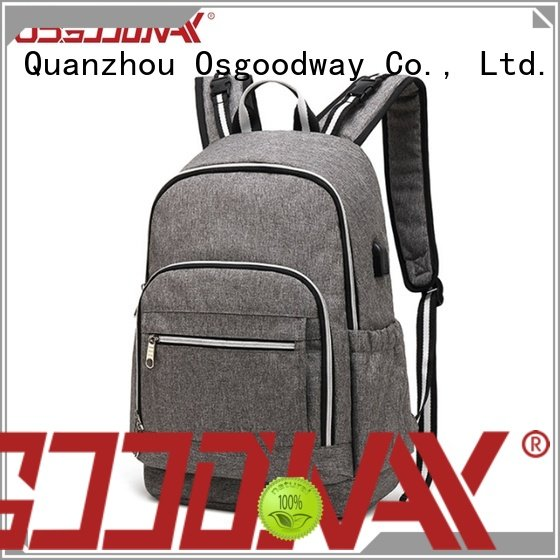 Osgoodway waterproof personalized diaper bags wholesale for dad