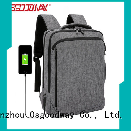 hot sale anti theft laptop backpack supplier for business traveling