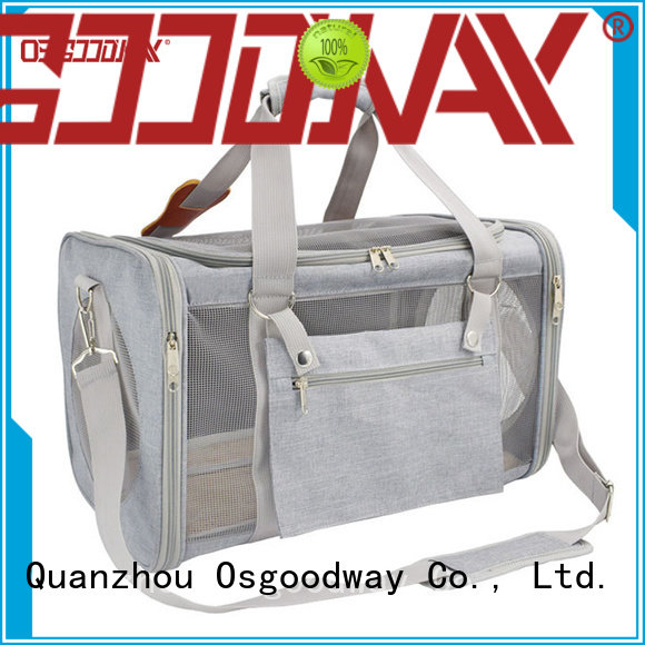 Osgoodway high quality pet backpack manufacturer for cat