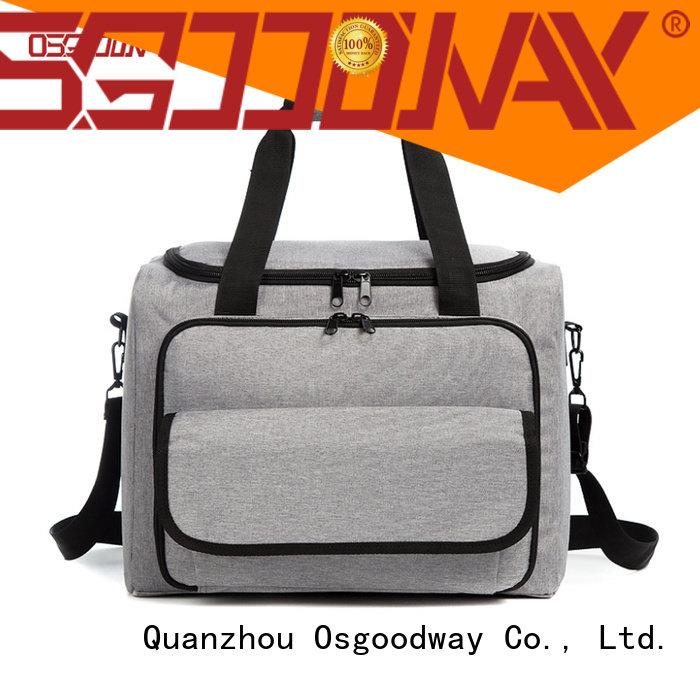 Osgoodway leak-proof food cooler bag keep food cold for camping