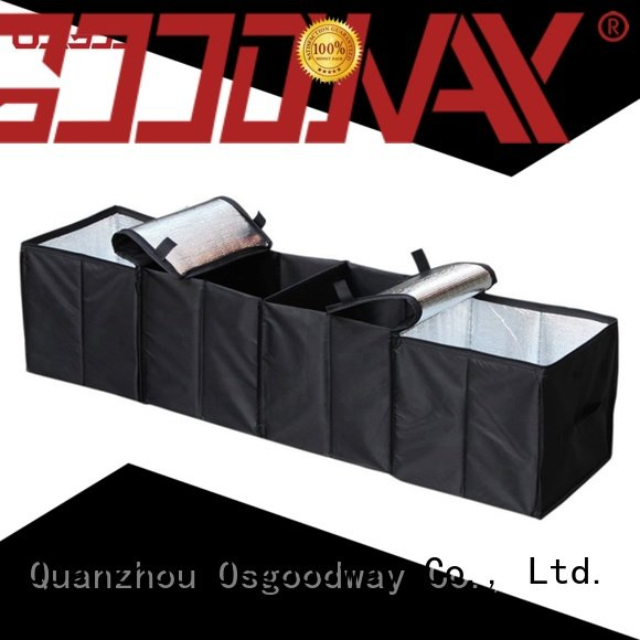 Osgoodway best trunk organizer with cooler bag for truck