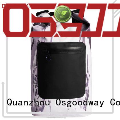 Osgoodway logo 50l dry bag cold resistance for travelling