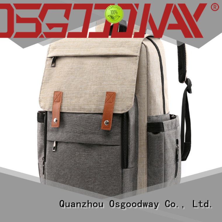 Osgoodway large capacity wholesale diaper bags manufacturer for picnic
