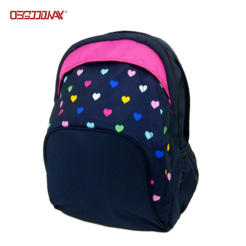 Cute Girly Backpacks Custom Made Printed Book Backpacks for Girls