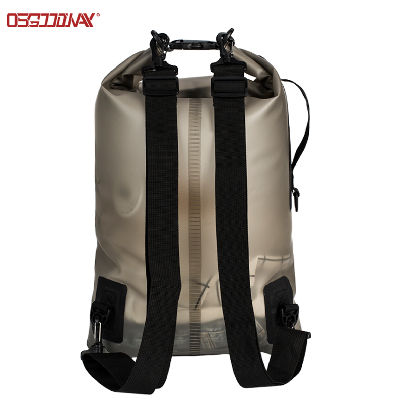 application-20L Translucent TPU Seal Gear Dry Bag Roll Top Diving Dry Bag Pack for Kayaking, Raftin