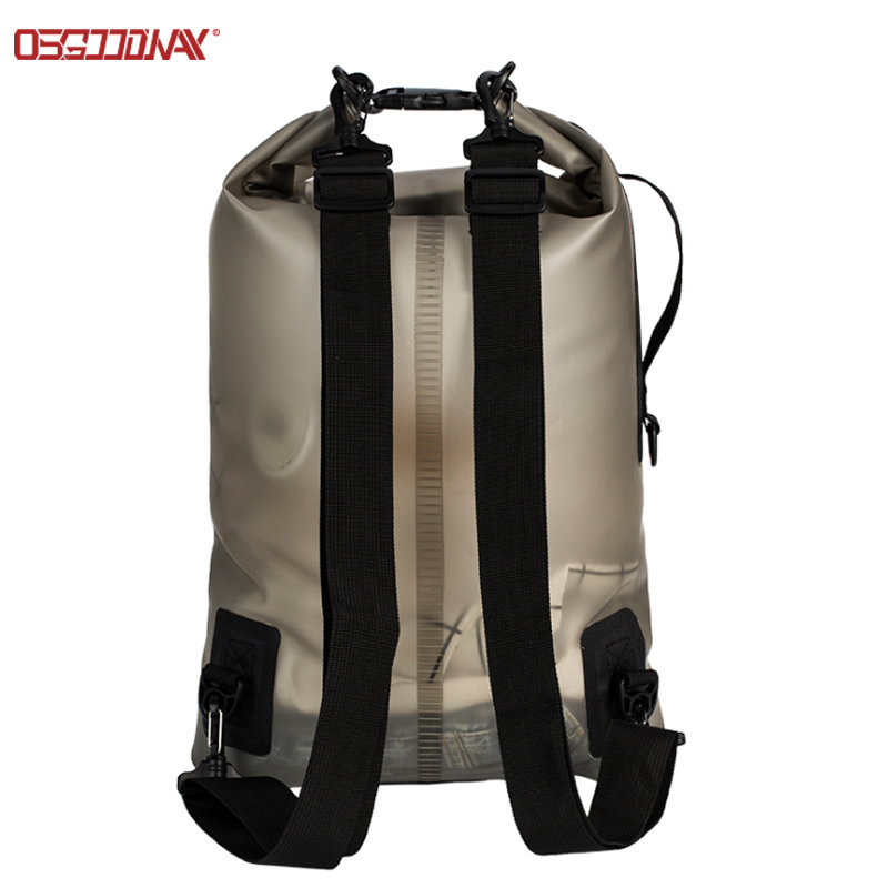 20L Translucent TPU Seal Gear Dry Bag Roll Top Diving Dry Bag Pack  for Kayaking, Rafting, Boating, Swimming