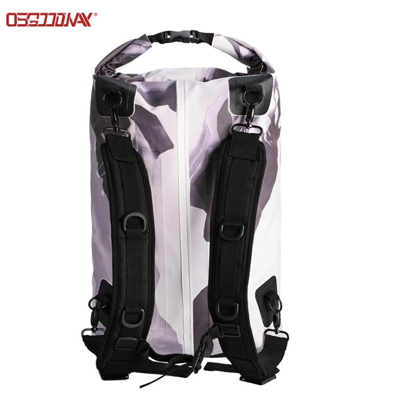 news-Osgoodway-Digital Print 500D PVC Outdoor Sport Hiking Dry Bags Waterproof Backpack-img