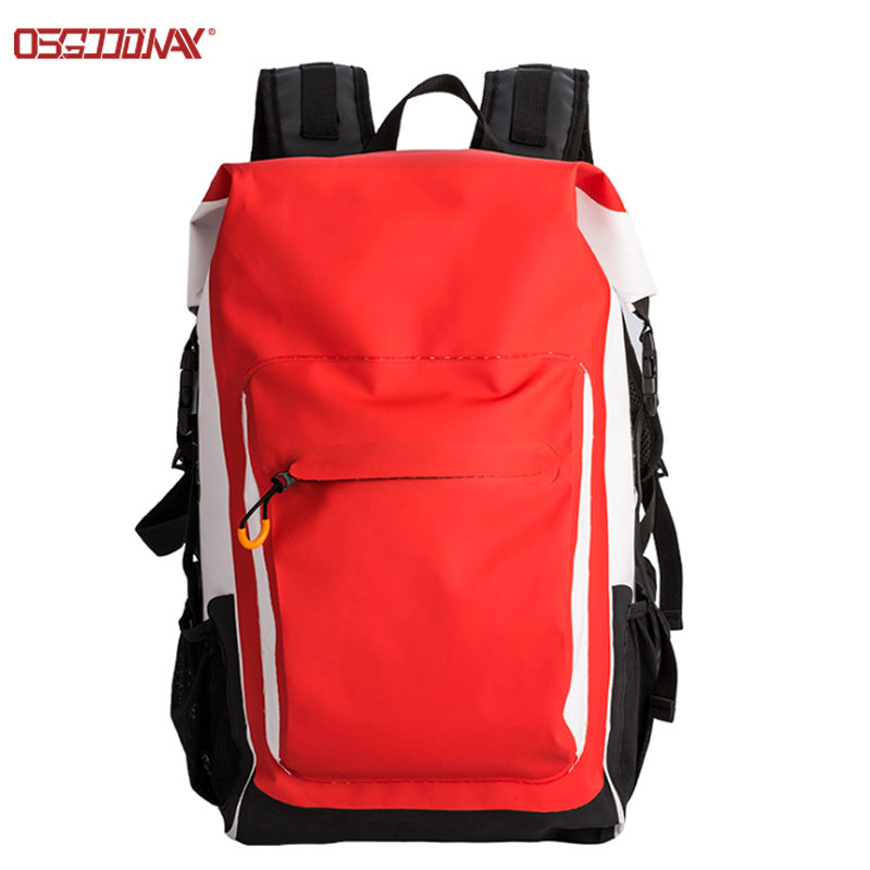 30L Eco Friendly Waterproof Dry Bag Backpack Great for All Outdoor Activities
