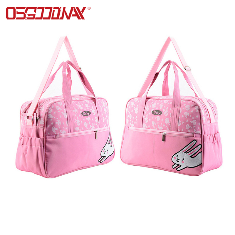China Wholesale Waterproof Animal Print Cute Diaper Bag Backpack-Osgoodway-img