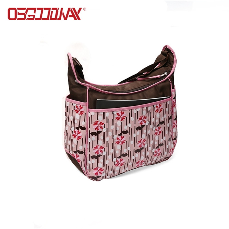 application-Large Water Proof Pink Backpack Diaper Bag for Mom and Girls with Changing Pad-Osgoodway