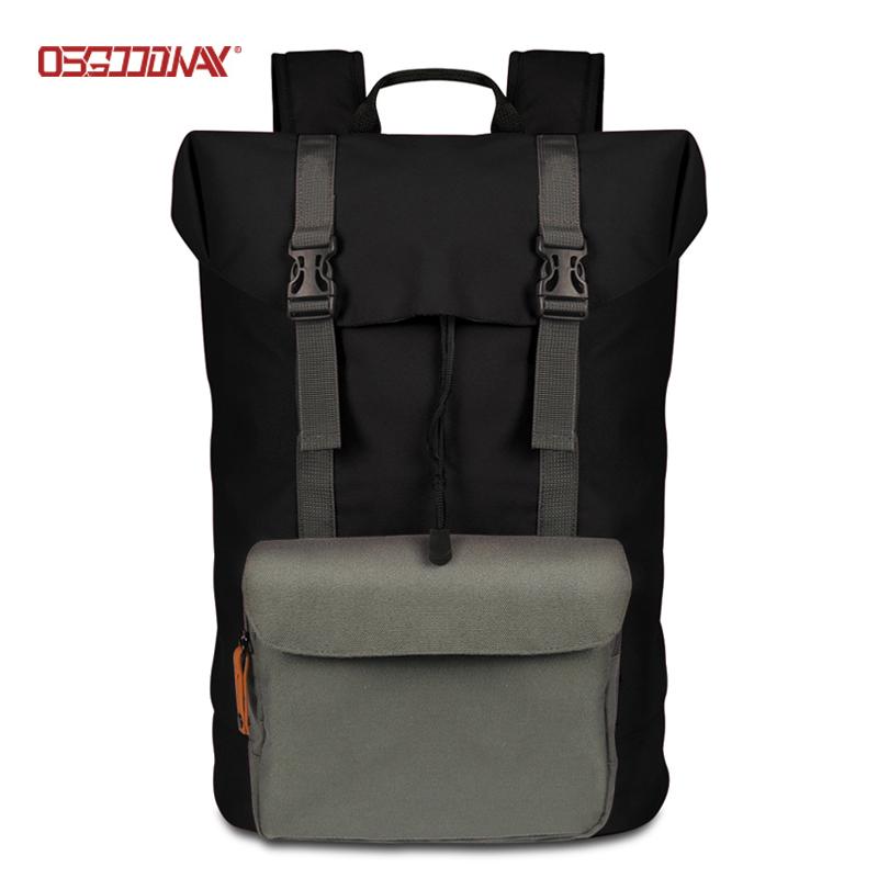 Custom Drawstring Outdoor Hiking Backpack Bag Pack Women Men Travel Rucksacks-Osgoodway-img