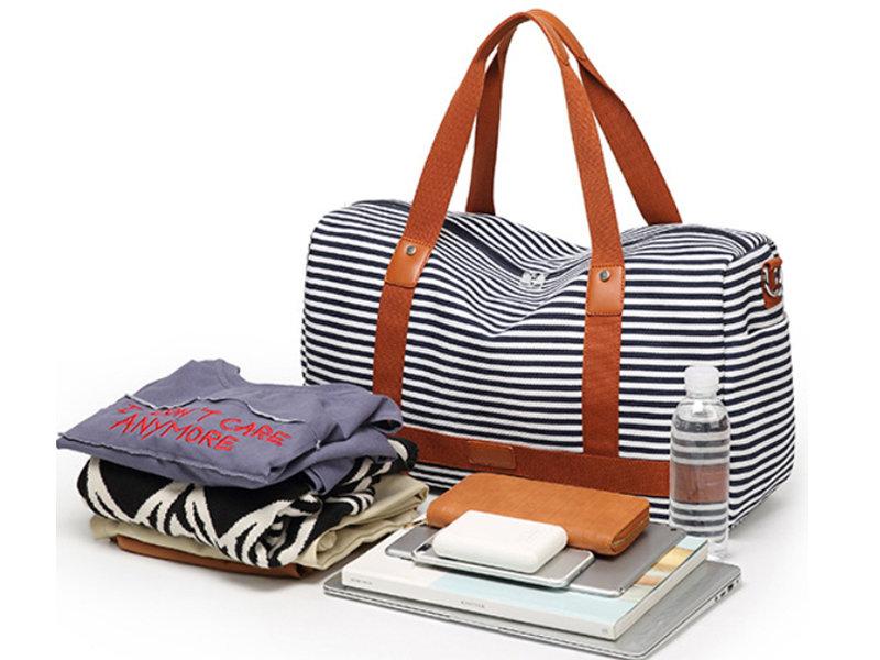 Canvas Travel Duffel Weekender Shoulder Bags Gym Tote
