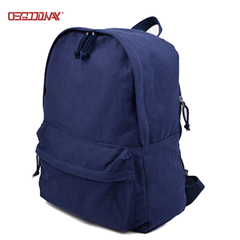 Wholesale Blank Casual Canvas Rucksack Backpack Bag for Girls