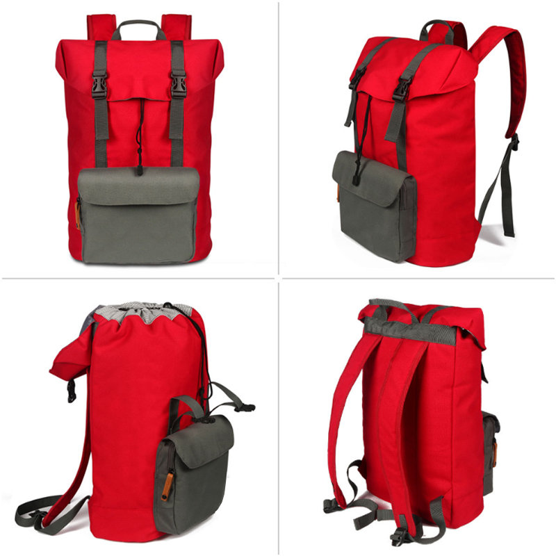 Custom Drawstring Outdoor Hiking Backpack Bag Pack Women Men Travel Rucksacks
