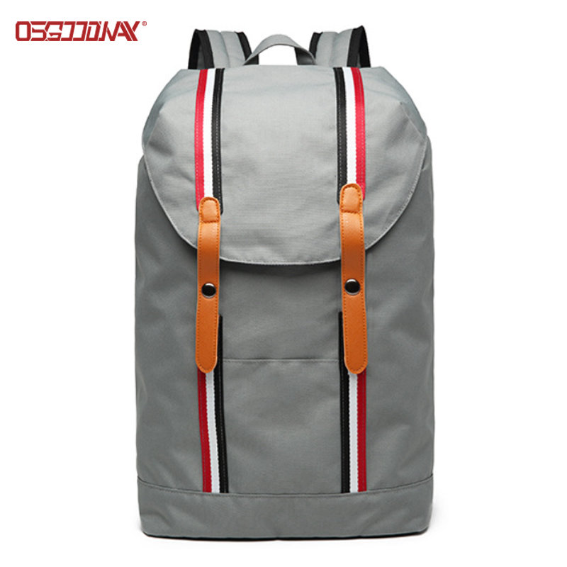 Lightweight Ladies Sport Backpack Stylish Women Custom Drawstring Backpack Bag