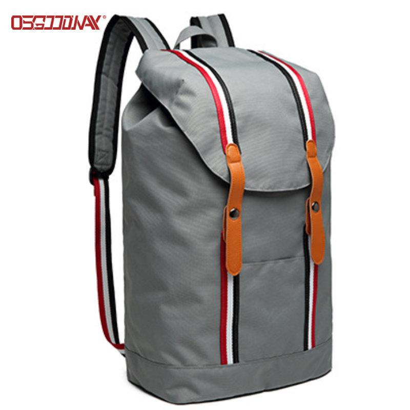 Lightweight Ladies Sport Backpack Stylish Women Custom Drawstring Backpack Bag