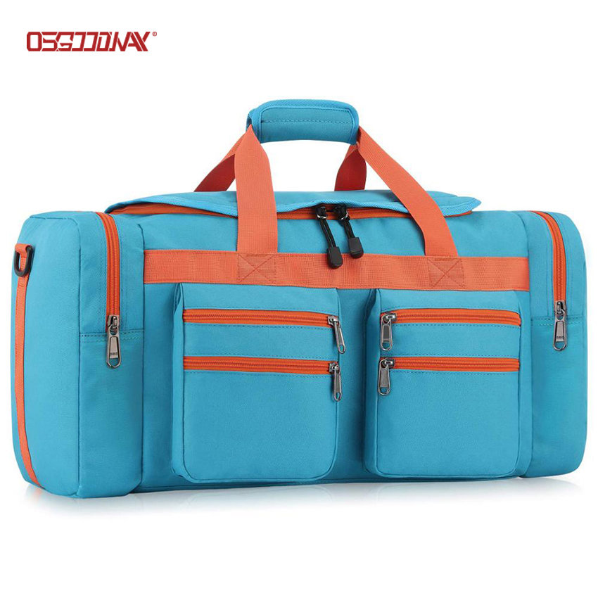 45L Travel Duffel bag Water-Resistant Gym Sports Luggage Bag with Multi-pockets