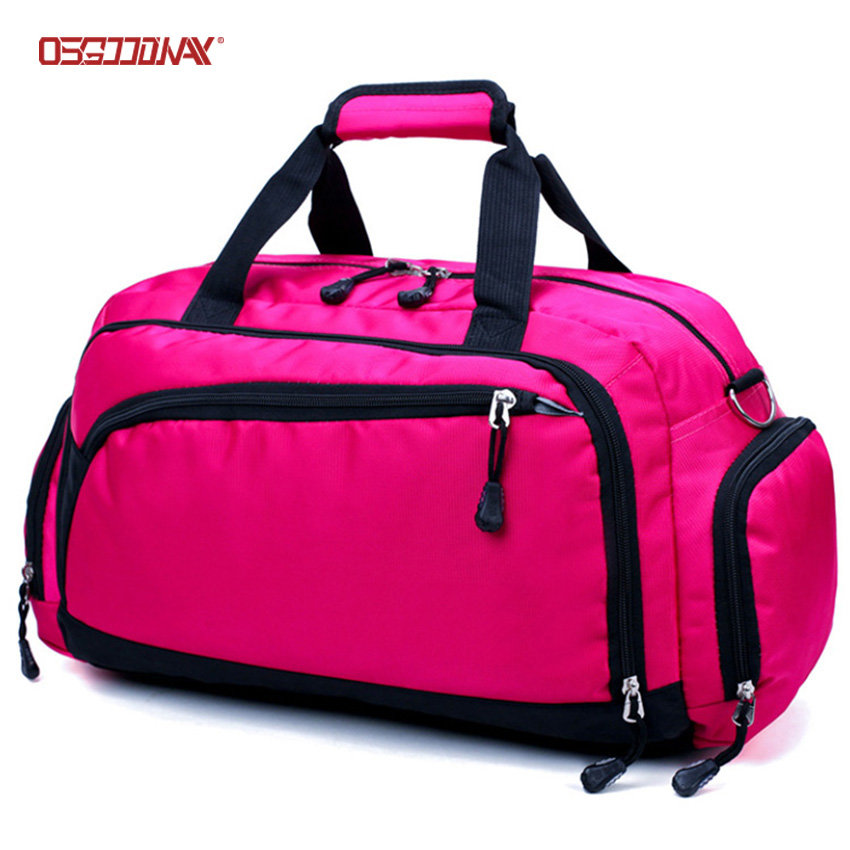Waterproof Gym Bag Man Fitness Training Sports Bag Portable Shoulder Women Travel Duffle Bags