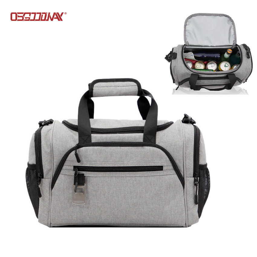Multiple Pockets Travel Picnic Bag Insulated Travel Sport Duffle Cooler Bag