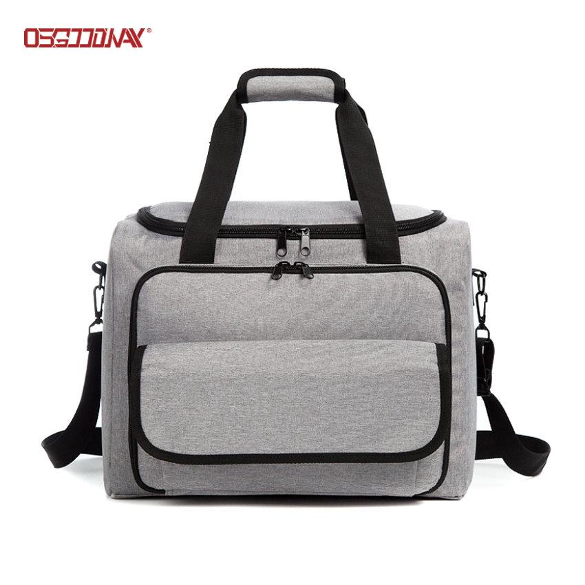 Waterproof Large Picnic Cooler Bag Aluminium Foil BBQ Oxford Beach Cooler Bag