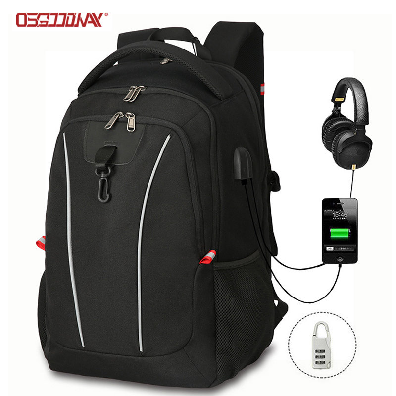 Multi Functional Laptop USB Charging Rucksack Computer Backpacks for Men