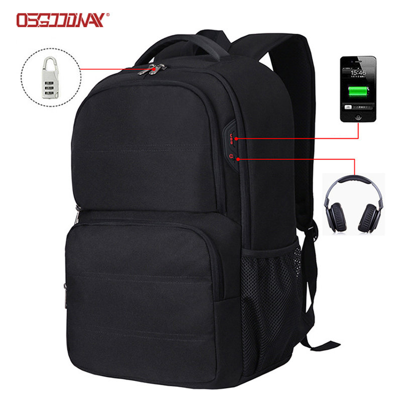 Waterproof Shot Trips Travel Laptop Backpack Bag Polyester School Backpack with Laptop Compartment