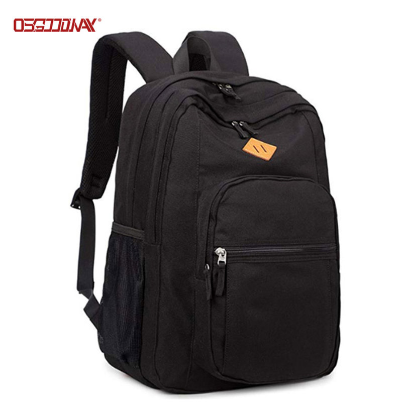 Classical Basic Travel School Bags Backpack Water Resistant Mens Book Bag Backpack