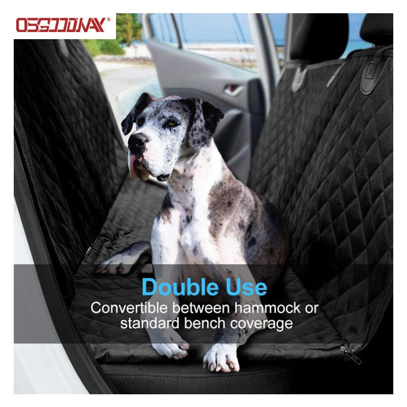 product-Osgoodway-600D Oxford Convertible Dog Hammock Style Travel Car Seat Cover for Pets-img