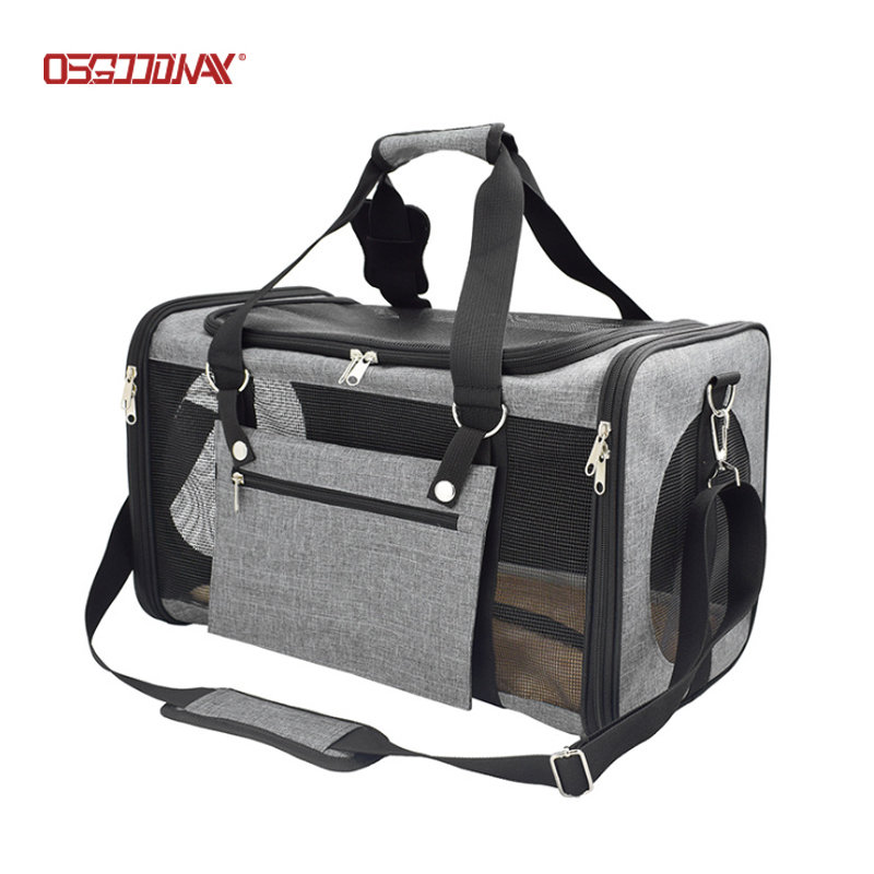 Airline Approved Dog Cat Pet Carriers Soft Sided Portable Collapsible Pet Travel Carrier for Small Medium Pets