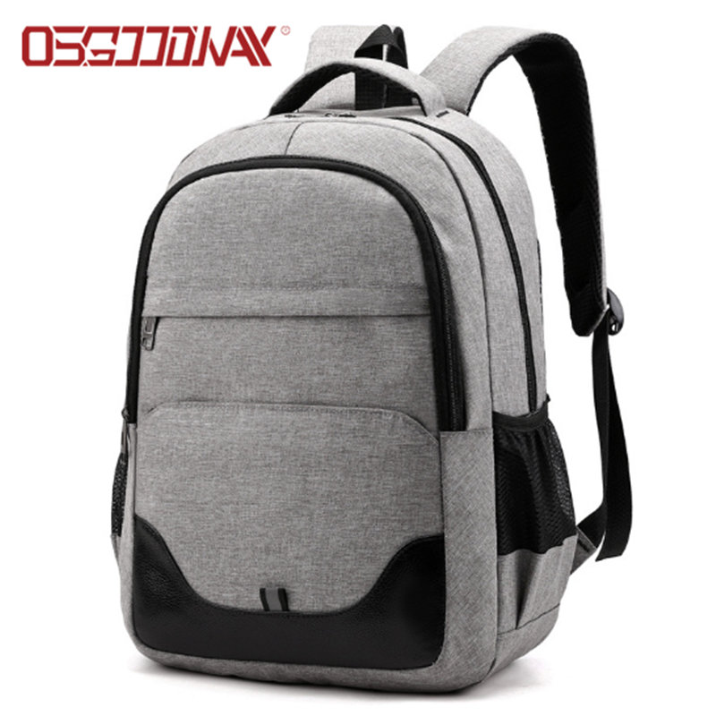 Anti Theft Slim Durable Student Backpack Water Resistant College School Computer Bag