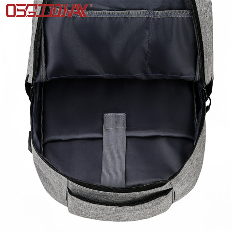 Business Anti-Theft Ultra-Thin and Durable Travel Water Resistant Backpack with USB Charging Port