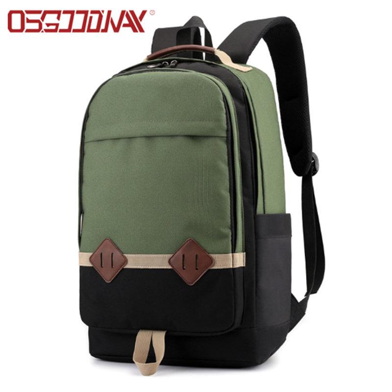 Leisure Trend Slim Waterproof College Bookbag Lightweight Travel Backpack for School Business