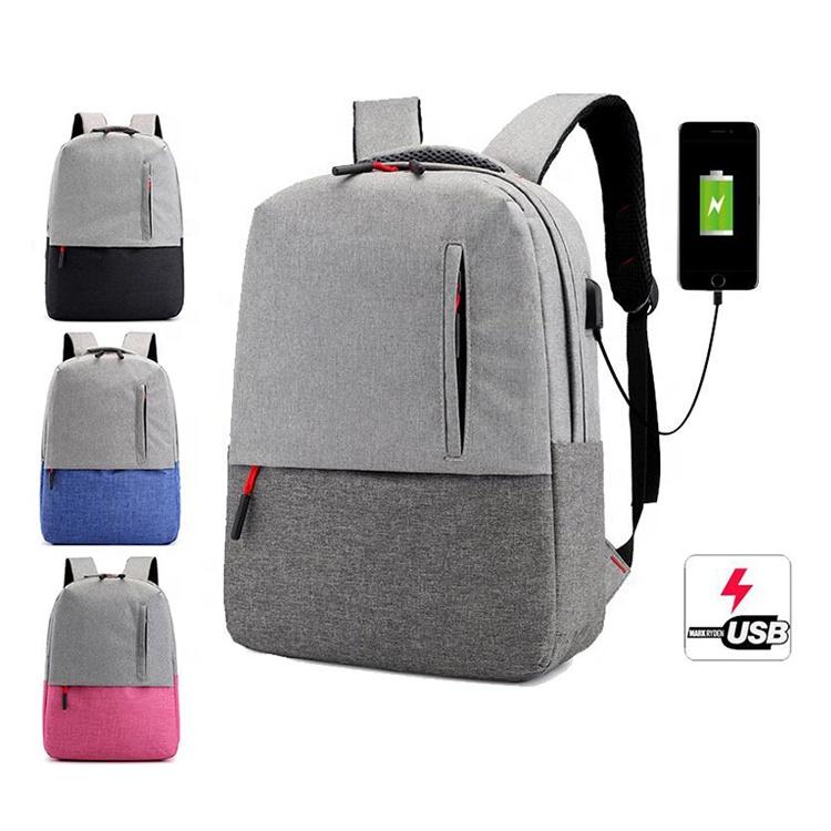 USB Charging Wholesale Travel Sport Laptop Backpack Custom Mens School Backpack Bags-Osgoodway