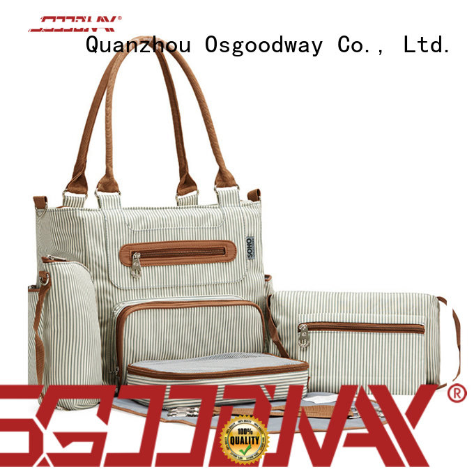 Osgoodway wholesale diaper bags easy to clean for vacation