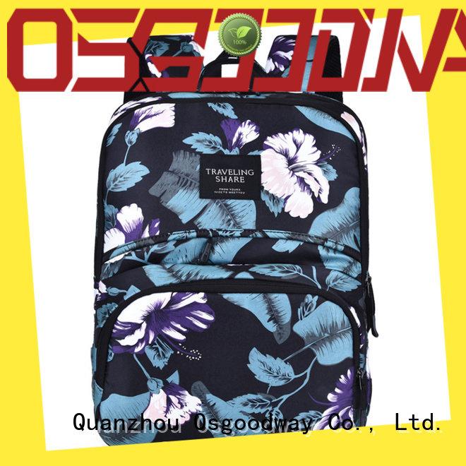 Osgoodway multifunction waterproof laptop backpack supplier for school
