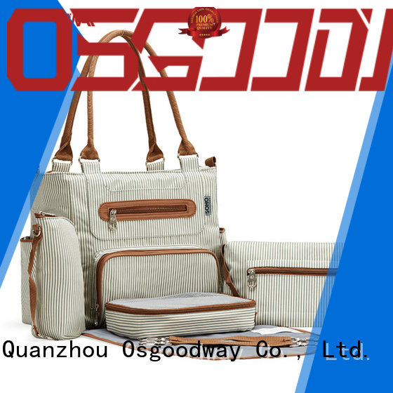 waterproof crossbody diaper bag easy to clean for baby care