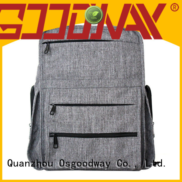 classic waterproof school backpack light for business traveling Osgoodway