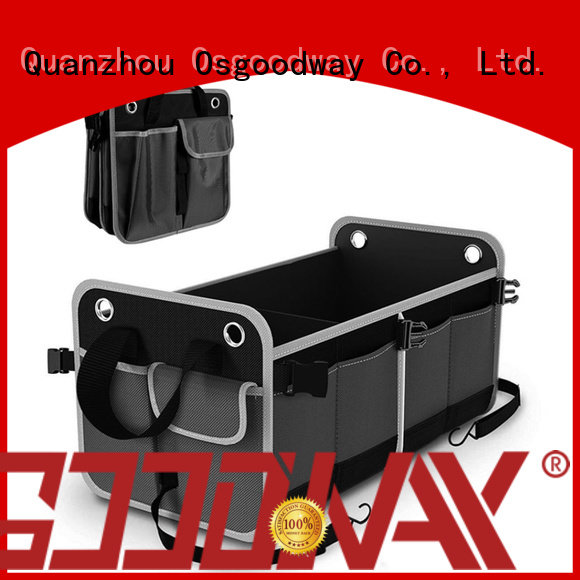 Osgoodway collapsible trunk organizer personalized for vehicle