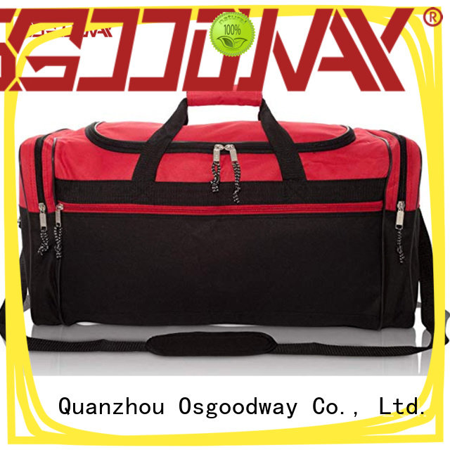 Osgoodway adjustable water proof duffle bag design for sport