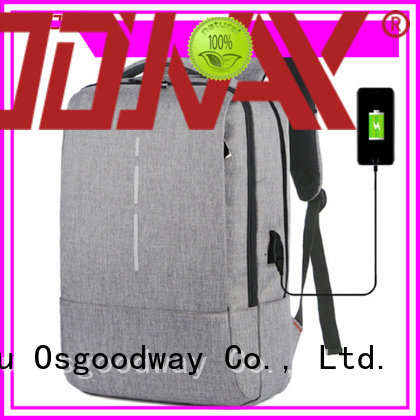 Osgoodway anti theft laptop backpack wholesale for school